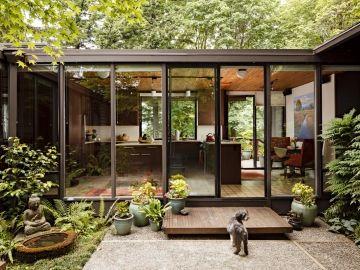Mid Century Modern Kitchen Remodel Portland Oregon | Mosaik Design