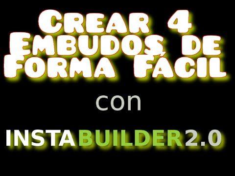 Manual #Instabuilder 2.0 Más Info: http://mistertrufa.net/aulamarketing/instabuilder-esp