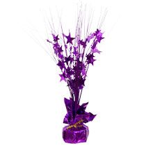 "Bulk Purple Balloon Weights/Centerpieces, 13"" at DollarTree.com"