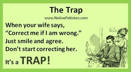 Best Jokes in English - Wife's Trap - Husband & Wife Jokes in English