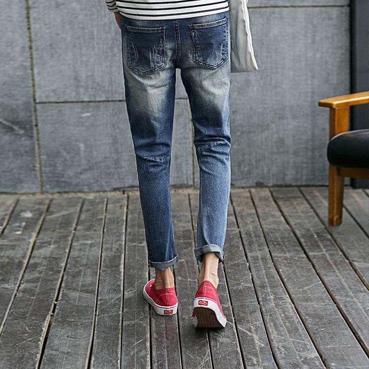 Aliexpress.com: Comprar Nuevos pantalones vaqueros de diseño para hombre marca de fábrica famosa arrancó para hombre del motorista Robin pantalones verano y de la primavera vaqueros para el niño moda Casual camiseta set pantsClothing de pantalones jean de marca fiable proveedores en Shinning Park