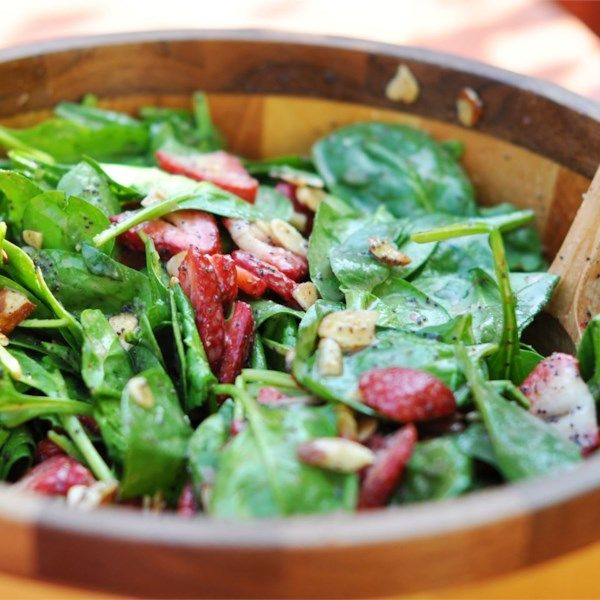 """Strawberry Spinach Salad I 