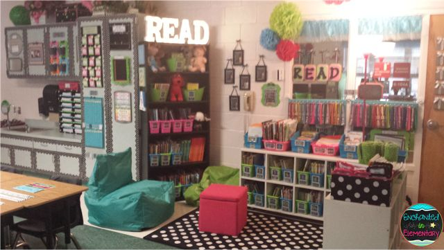 Enchanted in Elementary: Classroom Reveal 2015!