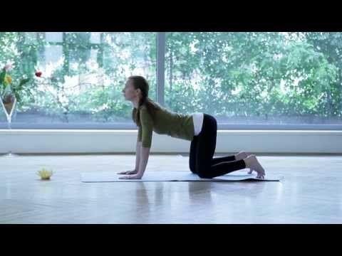 Joga: cviky na chrbticu (20 min.!) - Joga pre zdravie - YouTube