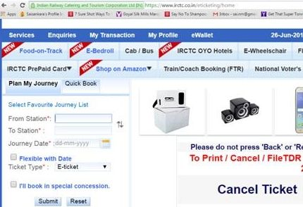 Check how to book tickets via IRCTC Online Reservation system. Indian Railway, one of the vast railway networks of the world is nestled with lives of millions. http://irctconlinereservation.com/irctc-online-reservation-a-comprehensive-guide-to-book-tickets-online/