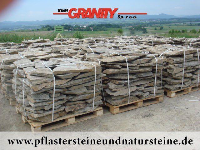 Firma B&M GRANITY- Gneis-Platten  http://www.pflastersteineundnatursteine.de/fotogalerie/erzeugnisse-aus-gneis/