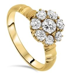 1.13cts Antique Diamond Ring