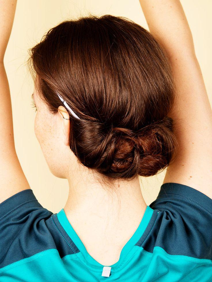 Sport + Frisur geht nicht? Geht doch! Wir haben 5 einfache Ideen für euch