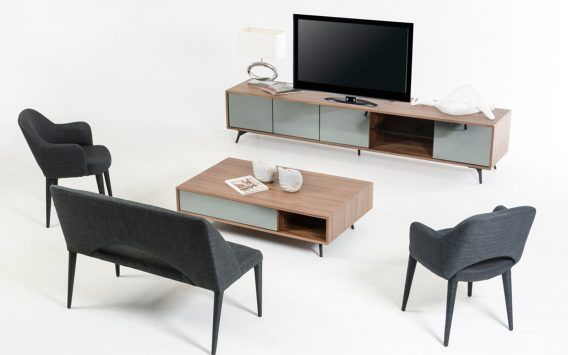 Teddy TV unit flawlessly adds charm to your living space by making it look more organised & chic  Our price $779 elsewhere up to $1699