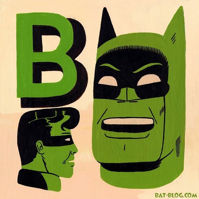 Teagle's BATMAN POP ART Acrylic Paintings...love this!