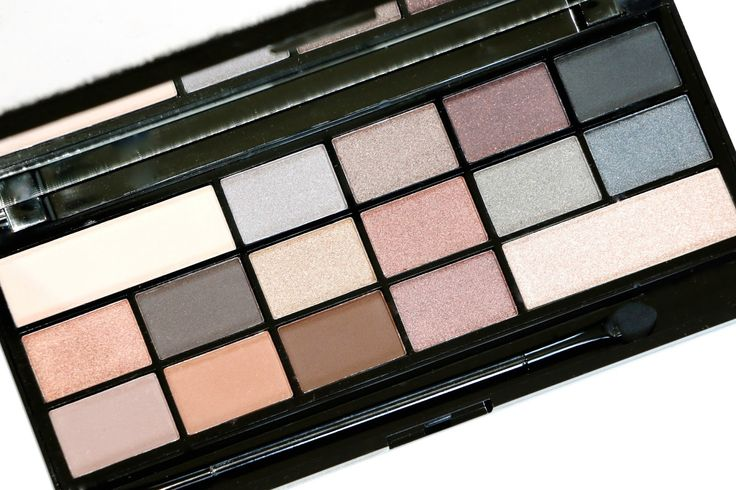 Makeup Revolution Naked Underneath Eyeshadow Palette Review