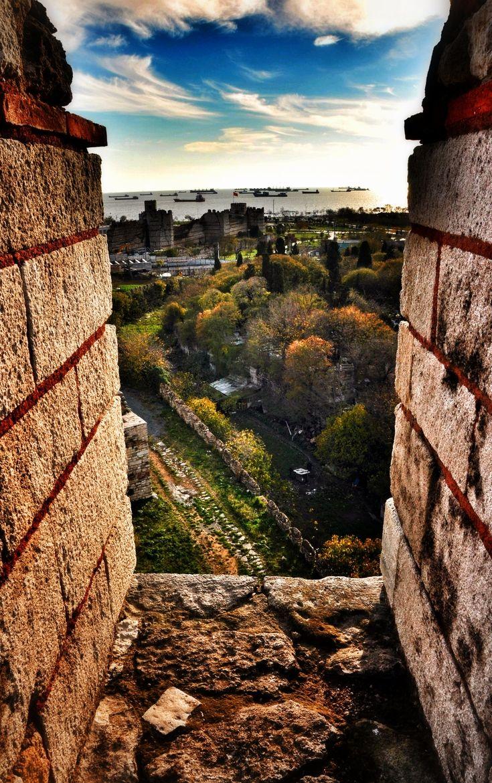 Yedikule fortress. Turkey