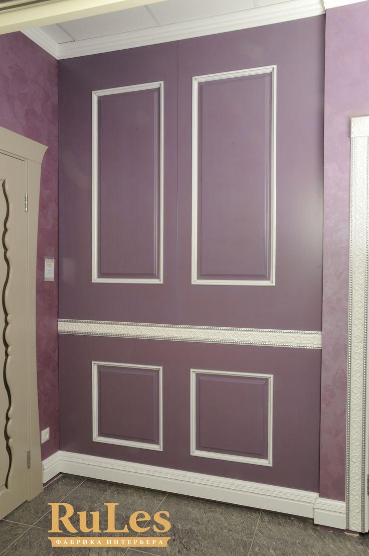 Стеновая панель от дизайнеров RuLes. #стеновыепанели #рулес #двери #интерьер #дизайн