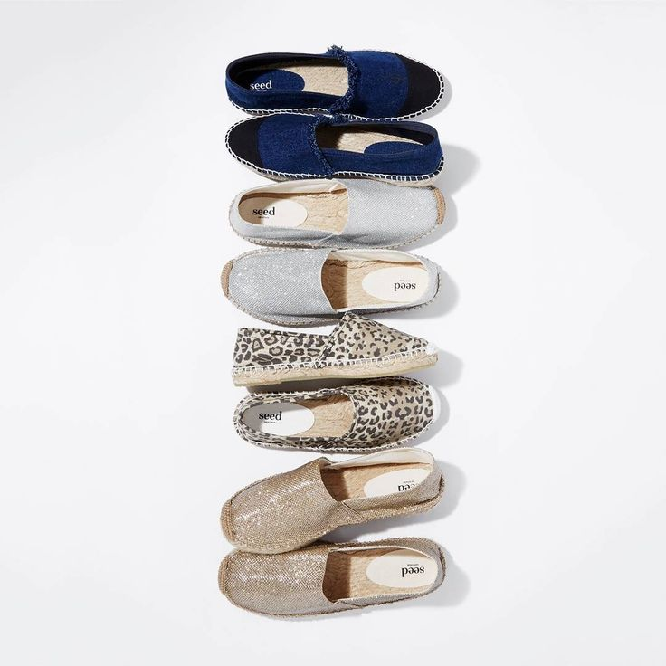 Meet our 'Bell Espadrille' - which colour is your pick? #seedheritage #instagram