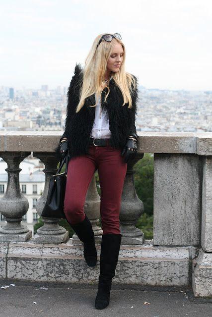 Cómo combinar pantalones burdeos, burgundy u oxblood