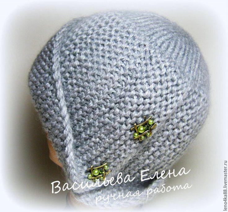 Хочу поделиться: красивая шапочка. Вязать несложно.