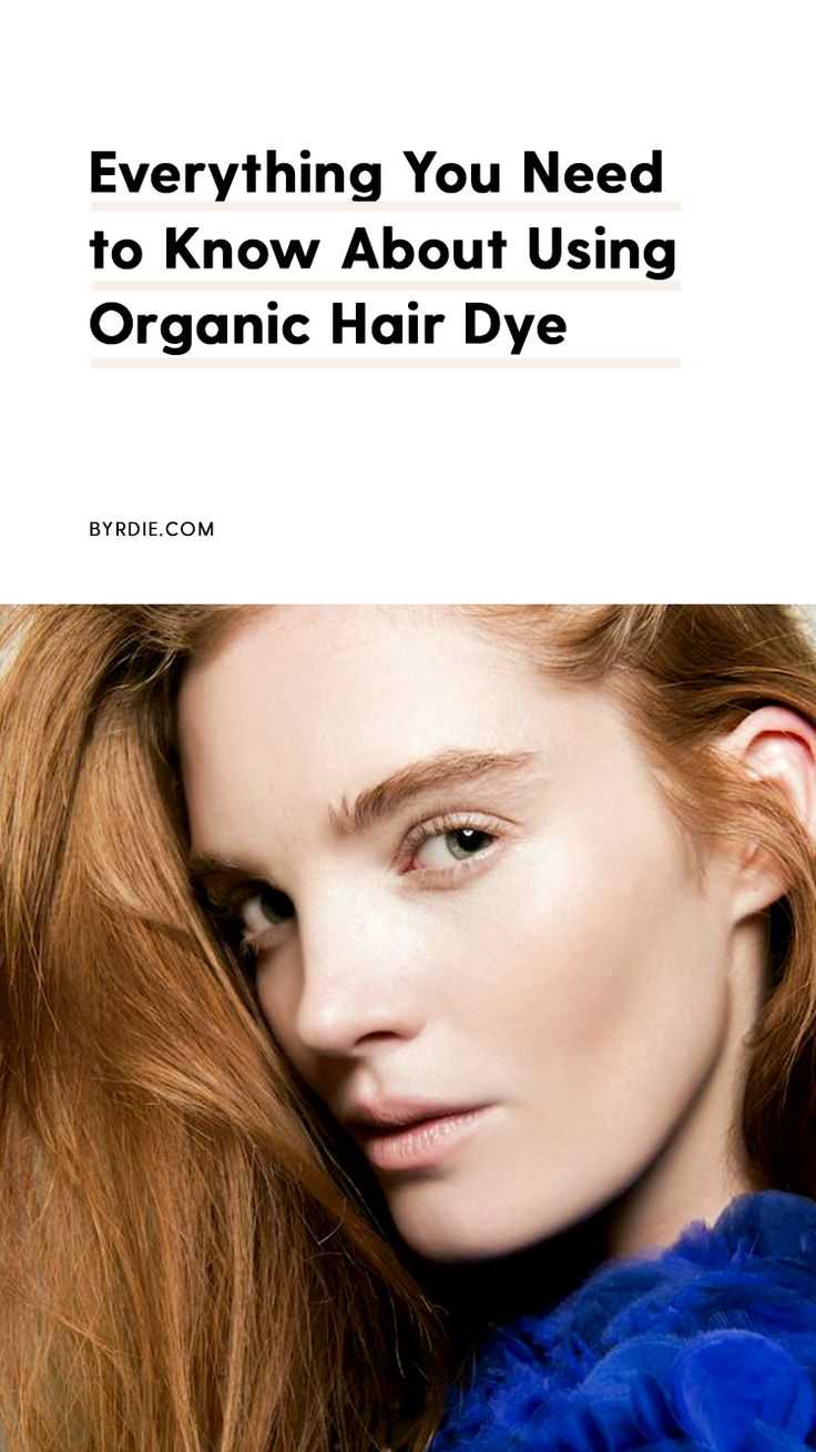 The best organic hair dye