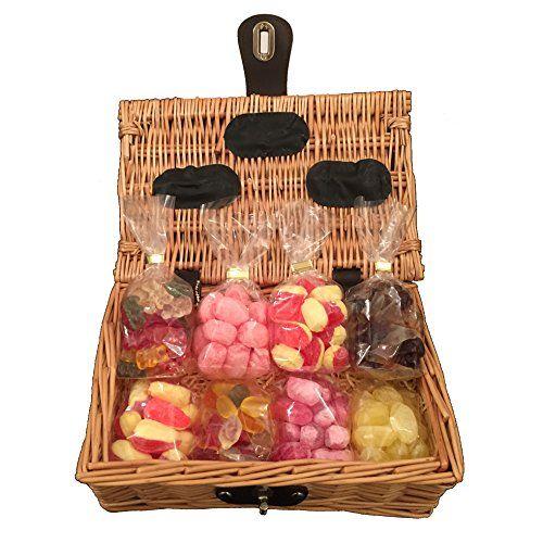 Best 25 sweet hampers uk ideas on pinterest chocolate hampers sugar free sweet hamper gift basket perfect xmas confec https negle Choice Image