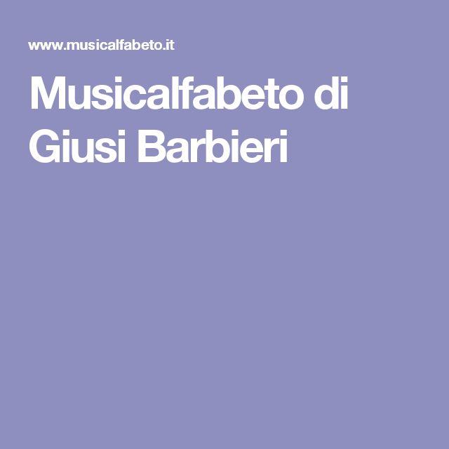Musicalfabeto di Giusi Barbieri