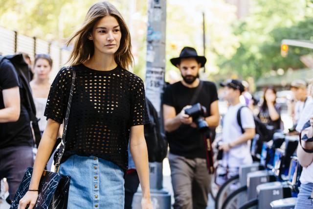 We've rounded up our 10 favorite denim skirt styles, with tips on what to wear with different types of jean skirts to look fashionable now.