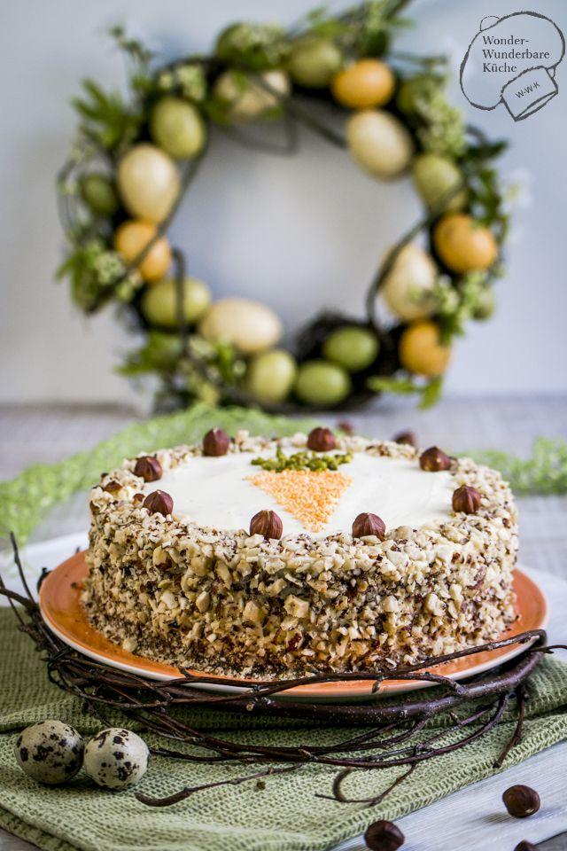 Wonder Wunderbare Küche: Rübli-Haselnuss-Torte
