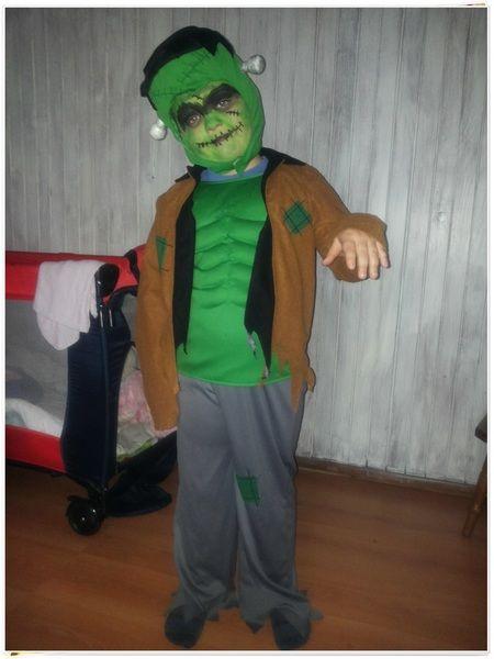 Halloweenowy Frankenstein:)