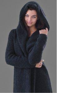 Вязание пальто Darkness