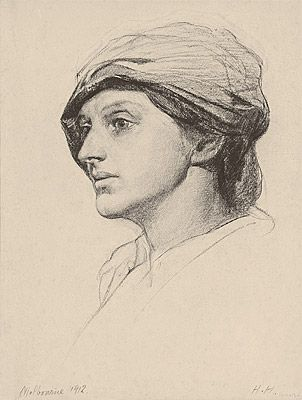 Hans HEYSEN | Sallie (The artist's wife)