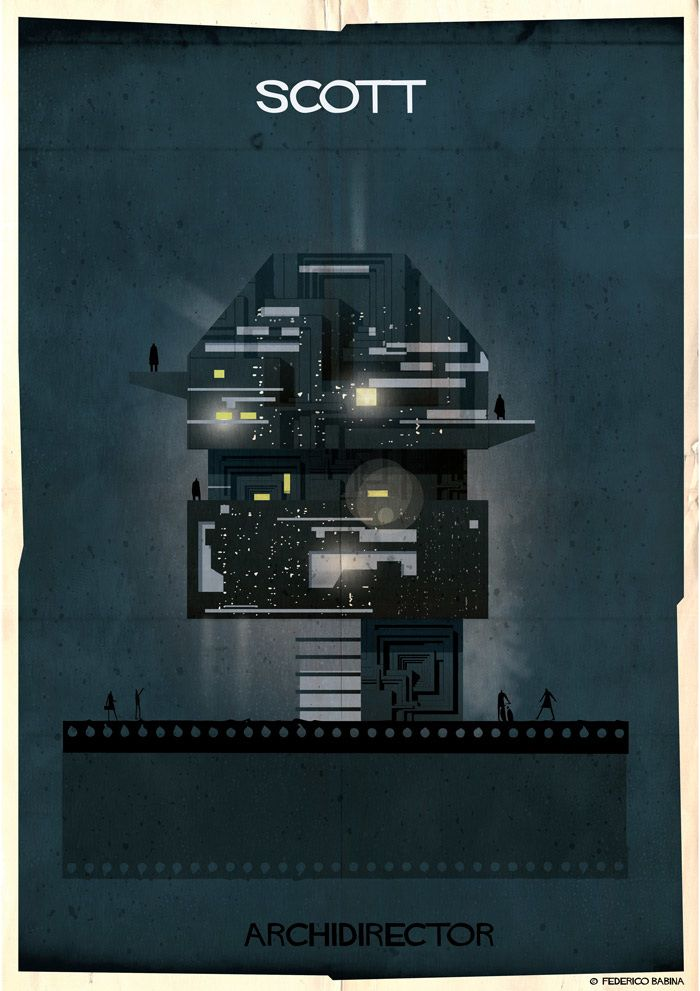 Artist Creates Houses in the Working Style of Famous Movie Directors