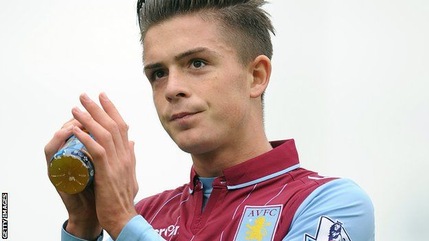 Jack Grealish of Aston Villa