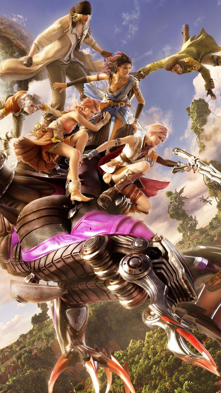 Lightning Final Fantasy Background > Flip Wallpapers