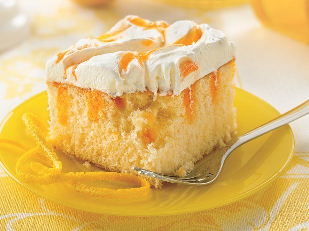 Creamy Orange Cake| Bettycrocker.com