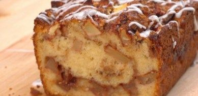 apple fritter bread- will try this using GF flour