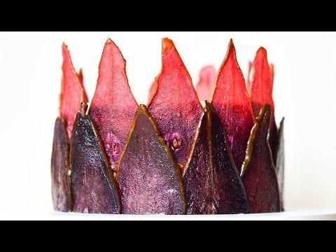 Сушеные груши для украшения тортов ☆ Чипсы из груш ☆ Dried pears for decoration - YouTube