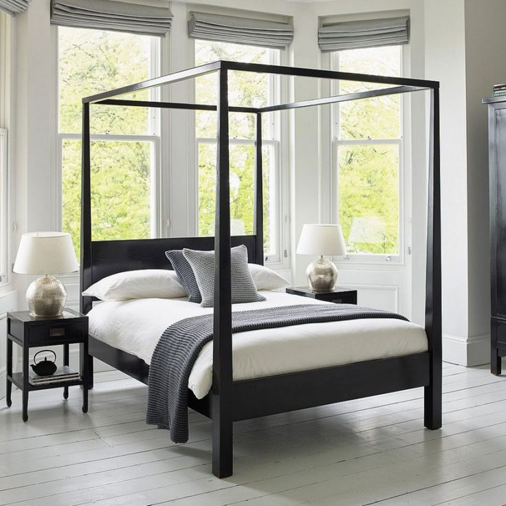 four poster bedroom furniture - interior bedroom paint colors
