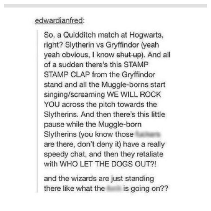 Gryffindor and Slytherin