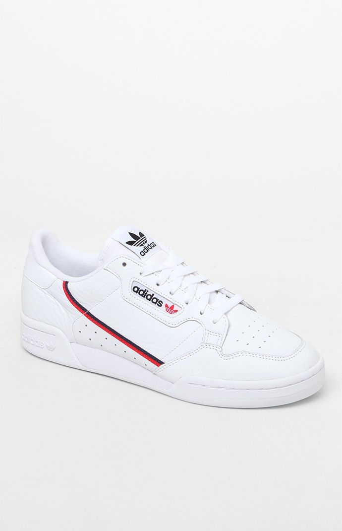 adidas Continental 80 White Shoes | PacSun | clothes in 2019