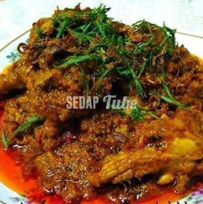 Resepi Rendang Ayam Opah Pork Loin Recipes Malay Food Spicy Recipes