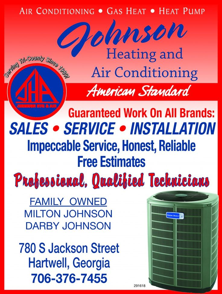 AIR CONDITIONING • GAS HEAT • HEAT PUMP Serving TriCounty