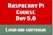 Raspberry Pi Login & Shutdown