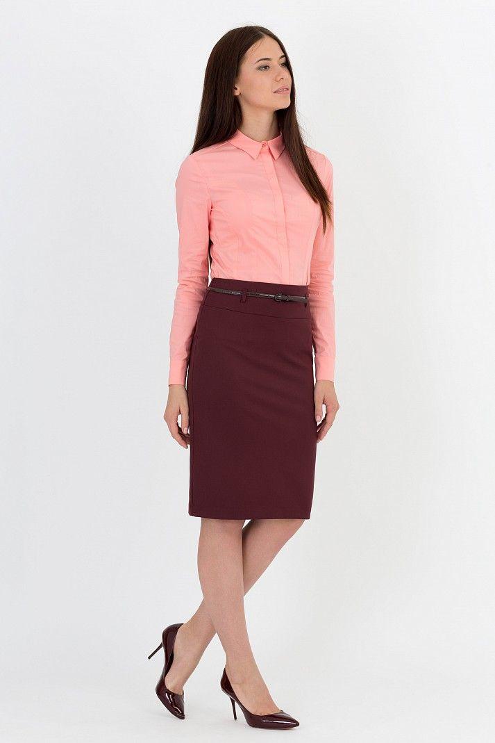 Офисная юбка Emka Fashion 202-60/shaherezada