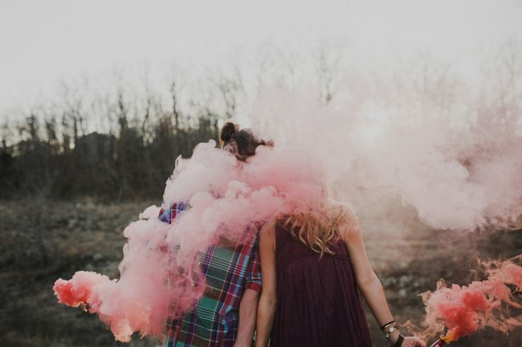 Up In Smoke | Photography With Smoke Bombs - Aaron & Whitney Photography