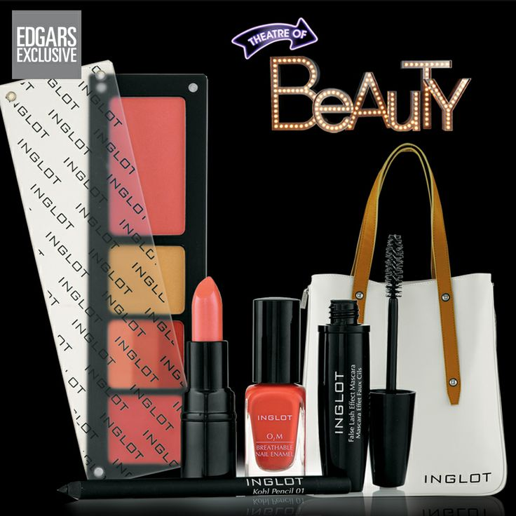FREE & fabulous! Get a FREE Inglot shopper when purchasing any Inglot product to the value of R495.00 or more.