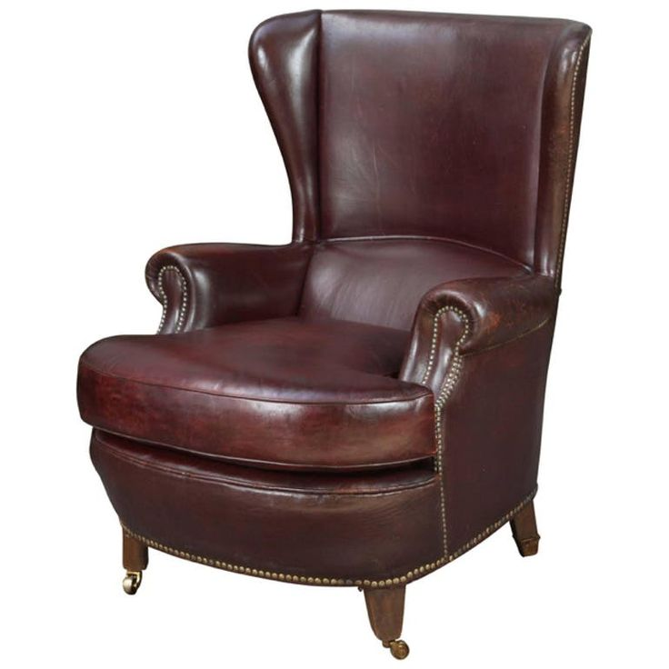 1000 Ideas About Leather Armchairs On Pinterest Side