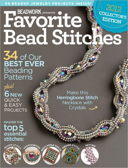 57 best beading books images on pinterest magazines bead favorite bead stitches 2012 interweave fandeluxe Images