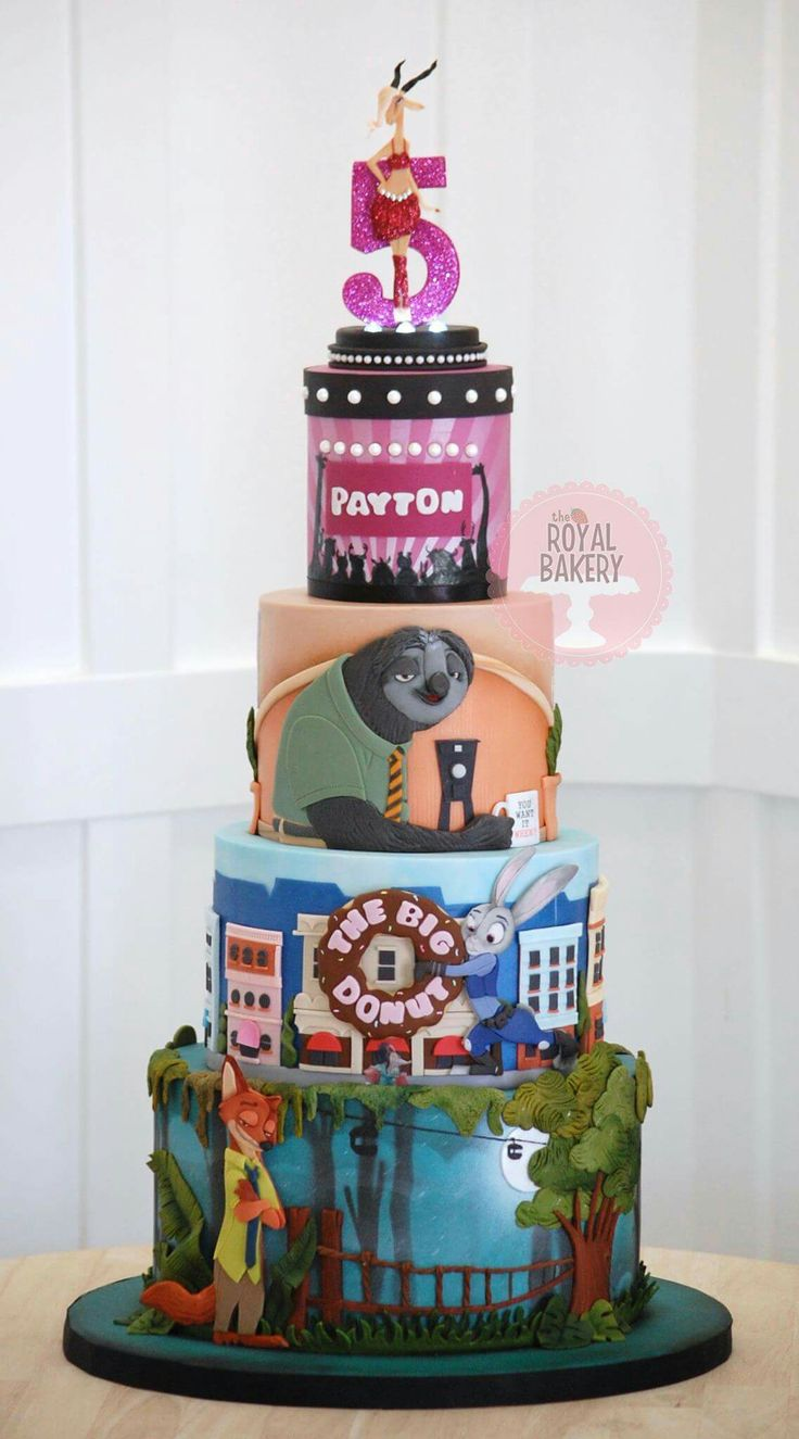 35 best images about Disney s Zootopia Cakes on Pinterest ...