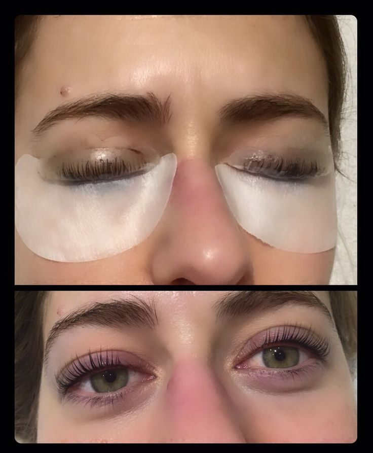 BEFORE/AFTER - Eyelash Lift Treatment!!! http://www ...