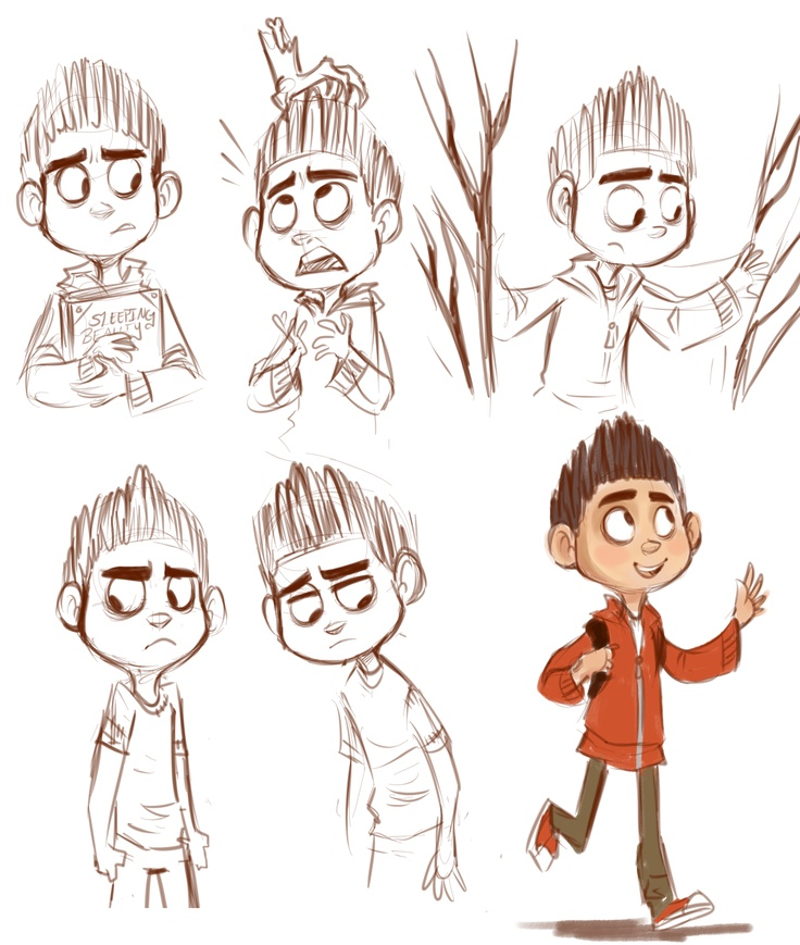 Character Design Quotes : Paranorman character sketches stop motion perfection