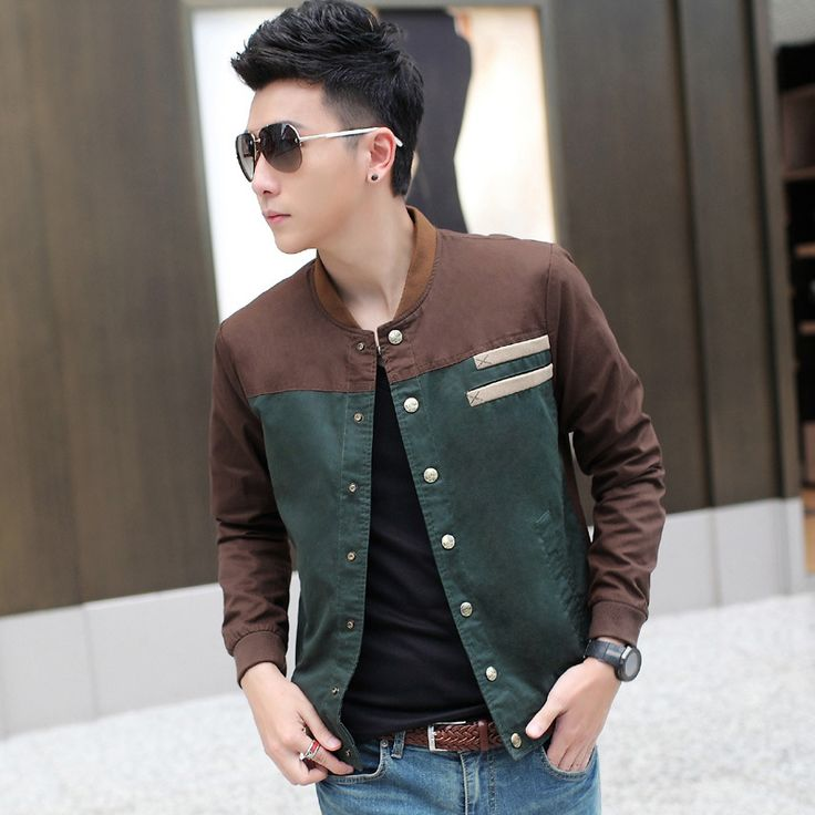 Men's Casual Jacket For Men Spring 2014 Mens Fashion Jackets Male Overcoat Korean Slim Fit Collar Coat Casaco Masculino T511