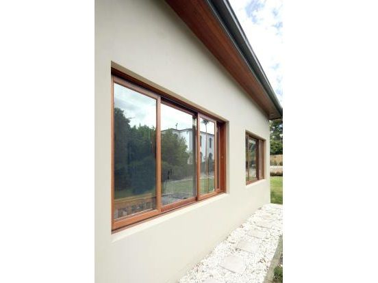 Sliding windows like this above the kitchen sink.